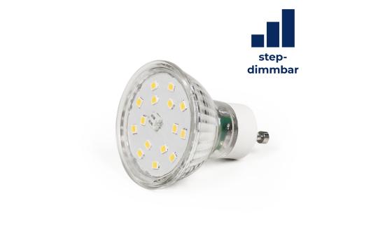 "LED-Strahler McShine ""LS-450"" GU10, 5,5W, 470lm, warmweiß, step dimmbar 100/50/20%"
