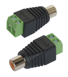 Adapter Cinch - RCA-Buchse, 2er-Set