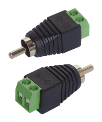 Adapter Cinch - RCA-Stecker, 2er-Set