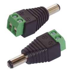 Adapter DC-Hohlstecker, 12-36V, max. 2A, 2er-Set