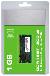 "Arbeitsspeicher SO-DIMM DDR-II RAM ""CnMemory"", 667MHz, 1024MB, CL 5.0"
