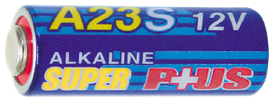 Batterie A23, 12V, 28x10mm Alkaline