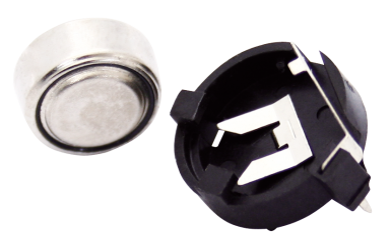Batteriehalter für 1x Knopfzelle max. 13mm