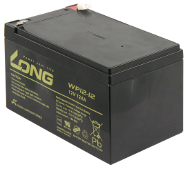 "Bleiakku KUNG LONG ""WP12-12"" 12V/12 Ah, VdS, 151x99x100 mm, 4,27 kg"