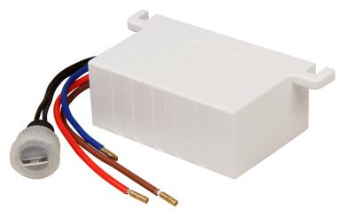 """Dämmerungs-Schalter McShine """"DS-12"""" 230V/10A, IP44, Decken-Einbau"""