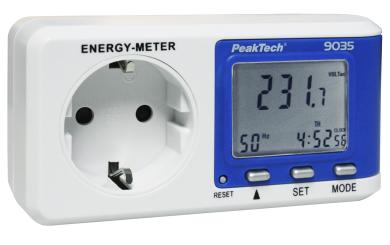 "Digital-Energiekostenmessgerät PeakTech ""9035"""