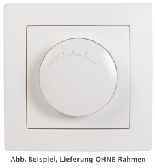"Dimmer für ohmsche Lasten McPower ""Flair"" 250V~/300W, UP, Memory-Funktion"