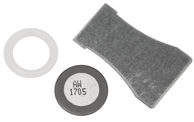 Ersatzmembran für Ultraschall-Nebler, 16mm-Ø