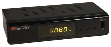 HD DVB-C Receiver in Full HD 1080p, USB 2.0, HDMI, SCART, Koaxial