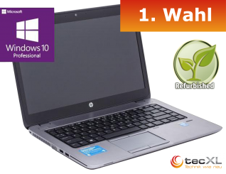 "HP EliteBook 840 G1, Intel i5 2x1.90 GHz, 14"", 8GB DDR3, 256GB SSD, 1.Wahl"