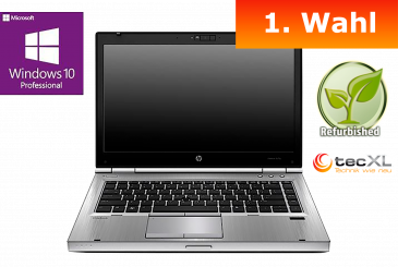 Hewlett Packard EliteBook 8470p, Intel Core i5 2x2,60GHz, 4GB DDR3, 500GB,1.Wahl