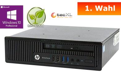 Hewlett Packard EliteDesk 800, Intel Core i5 4x2.90GHz, 8GB DDR3, 256GB, 1.Wahl
