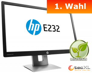 Hewlett Packard EliteDisplay E232, 23 Zoll Display, 1080p, 1.Wahl