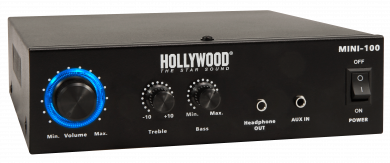 "HiFi-Verstärker HOLLYWOOD ""Mini-100"", 100W, 1x Line In"