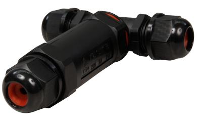 Kabelverbinder McPower, 110x94x29mm, IP68 - wasserdicht, 230V, 3-polig