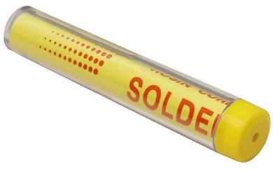 Lötzinn, im Spender, 1mm, 12g, bleifrei (99,3%Sn 0,7%Cu 2,2%Sb)