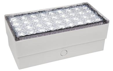 """LED-Bodenleuchte McShine """"Pflasterstein"""" 20x10x7cm, 180lm,IP65, neutralweiß,230V"""