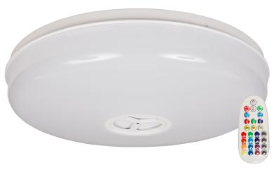 """LED Deckenleuchte McShine """"LD-BT"""" RGB+warmweiß, dimmbar, Bluetooth Lautsprecher"""