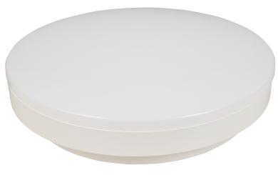 "LED-Deckenleuchte McShine ""Sky-R"", 24cm-Ø, 15W, 1.500lm, 3000K, warmweiß"