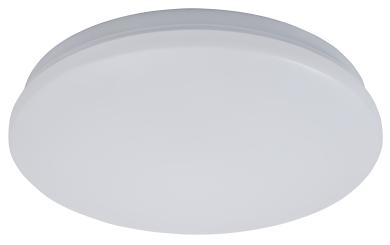 """LED-Deckenleuchte McShine """"illumi"""" 12W, 960lm, Ø26cm, 3000K, HF-Bewegungsmelder"""