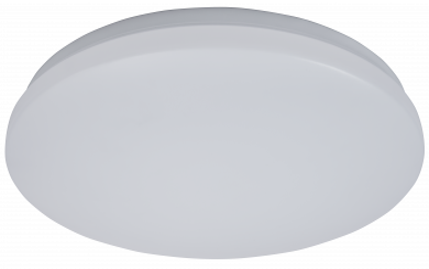 "LED-Deckenleuchte McShine ""illumi"" 24W, 1920lm, Ø38cm, 3000K, warmweiß"