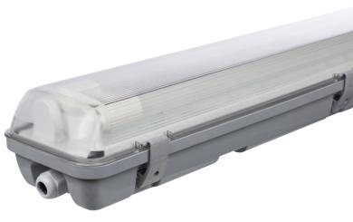 LED-Deckenleuchte für Feuchträume, IP65, 2x 2.000 lm, 4000K, 150cm, neutralweiß