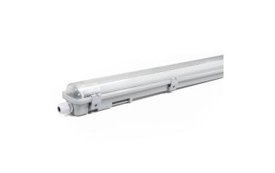 "LED Feuchtraumleuchte McShine ""FL-12"", IP65, 2.400 lm, 4000K, 150cm, neutralweiß"