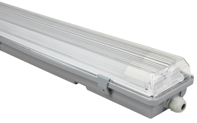 "LED Feuchtraumleuchte McShine ""FL-22"" IP65, 2x1.800lm, 4000K, 120cm, neutralweiß"
