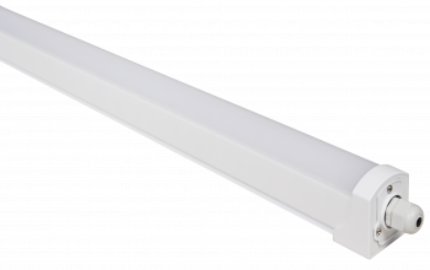 "LED Feuchtraumleuchte McShine ""FL-60"", IP65, 1700lm, 4000K, 60cm, neutralweiß"