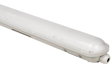 "LED Feuchtraumleuchte McShine ""FL-92"", IP65, 4000lm, 4000K, 120cm, neutralweiß"