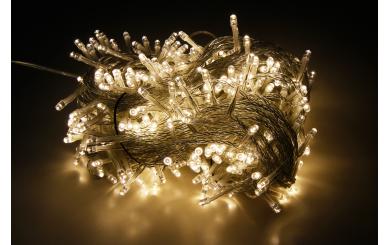 LED Lichterkette McShine, 400 LEDs, 40m + 2m Zuleitung, warmweiß, IP44