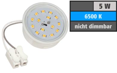 LED-Modul McShine, 5W, 400 Lumen, 230V, 50x23mm, tageslichtweiß, 6500K