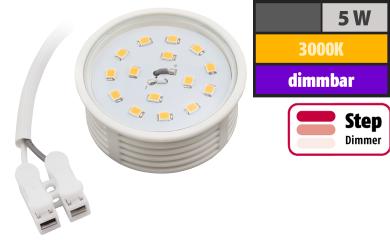 LED-Modul McShine, 5W, 400 Lumen, 230V, 50x23mm, warmweiß, 3000K