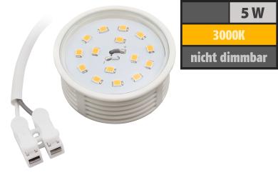 LED-Modul McShine, 4,8W, 400 Lumen, 230V, 50x23mm, warmweiß, 3000K