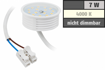 LED-Modul McShine, 7W, 470 Lumen, 230V, 50x23mm, neutralweiß, 4000K