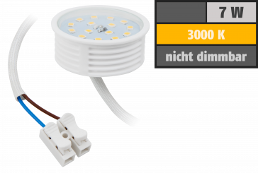 LED-Modul McShine, 7W, 470 Lumen, 230V, 50x23mm, warmweiß, 3000K