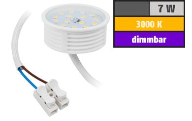 LED-Modul McShine, 7W, 470 Lumen, 230V, 50x23mm, warmweiß, 3000K, dimmbar
