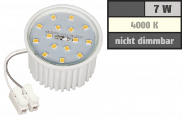 LED-Modul McShine, 7W, 510 Lumen, 230V, 50x33mm, neutralweiß, 4000K