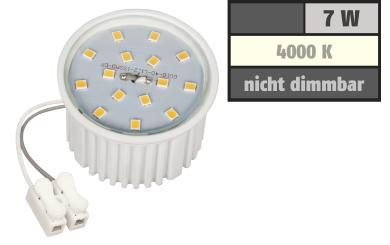 LED-Modul McShine, 7W, 510 Lumen, 230V, 50x33mm, neutralweiß, 4000K