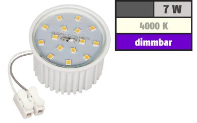 LED-Modul McShine, 7W, 510 Lumen, 230V, 50x33mm, neutralweiß, 4000K, dimmbar