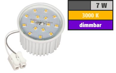 LED-Modul McShine, 7W, 510 Lumen, 230V, 50x33mm, warmweiß, 3000K, dimmbar