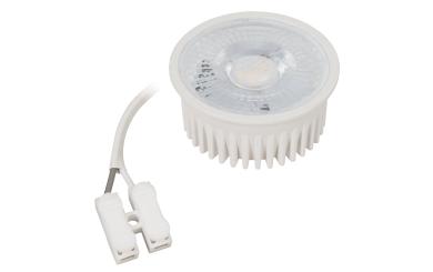 "LED-Modul McShine ""MCOB"" 5W, 400 Lumen, 230V, 50x25mm, warmweiß, 3000K"