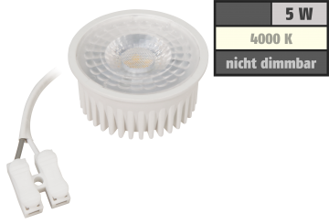 "LED-Modul McShine ""MCOB"" 5W, 400 Lumen, 230V, 50x25mm, neutralweiß, 4000K"
