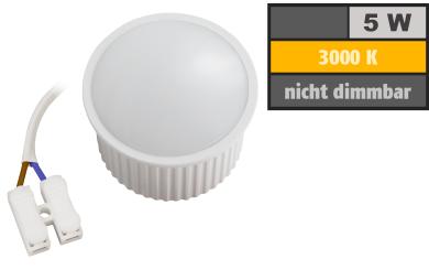 "LED-Modul McShine ""PL-50"" 5W, 400Lumen, 230V, 50x30mm, warmweiß, 3000K"