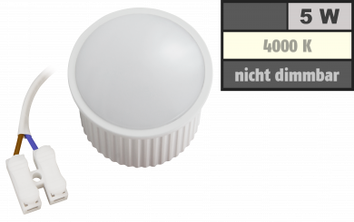 "LED-Modul McShine ""PL-50"" 5W, 400Lumen, 230V, 50x30mm, neutralweiß, 4000K"