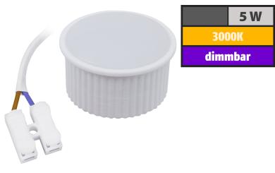 """LED-Modul McShine """"PL-55"""" 5W, 400Lumen, 230V, 50x25mm, warmweiß, dimmbar"""