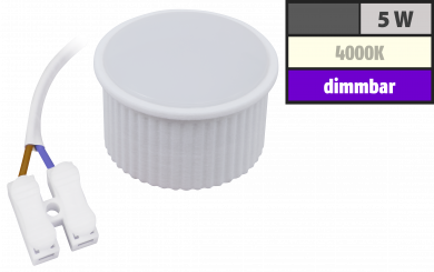 "LED-Modul McShine ""PL-55"" 5W, 400Lumen, 230V, 50x25mm, neutralweiß, dimmbar"