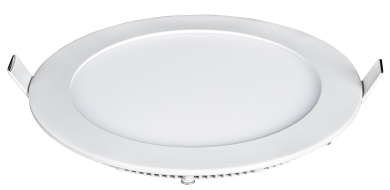 "LED-Panel McShine ""LP-1822RN"", 18W, 225mm-Ø, 1.260 lm, 4000K, neutralweiß"