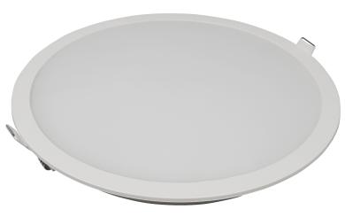 """LED-Panel McShine """"LP-225IP"""" 18W, 225mm-Ø, 1440lm, IP54, 3000K, warmweiß"""