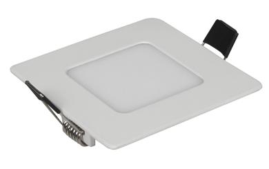 "LED-Panel McShine ""LP-385SN"", 3W, 85x85mm, 170 lm, 4000K, neutralweiß"